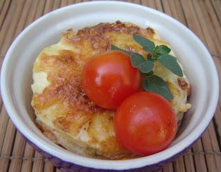 Lasaña de Calabacin, Pollo y  Salsa de Tomate con Orégano