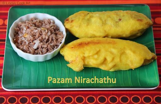 Pazham Nirachathu/ Stuffed Bananas/ Ethapazham Nirachathu/  Vazhaikka Roast/ Unnakaya