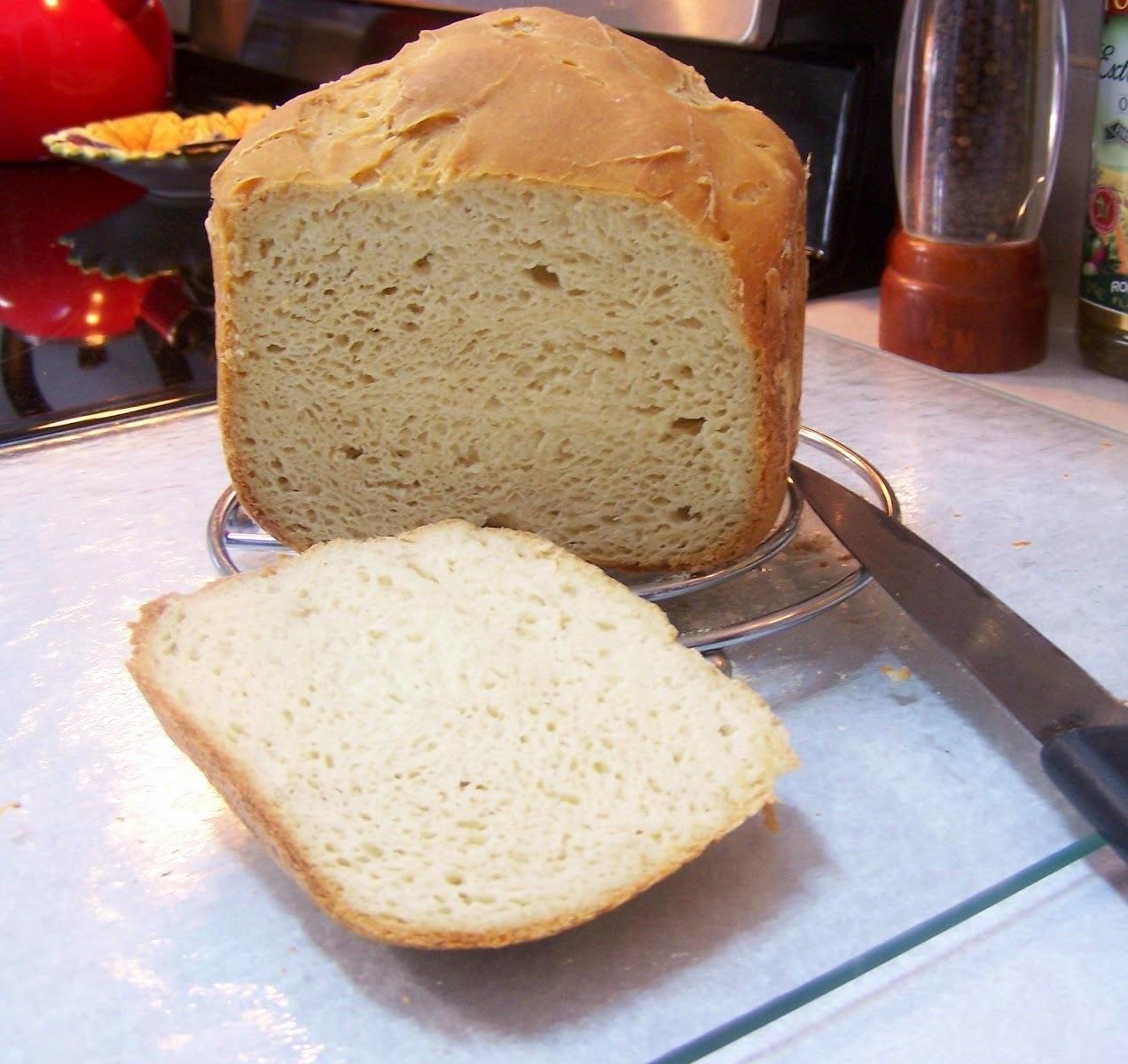 Pão Básico Sem Glúten e Sem Lactose