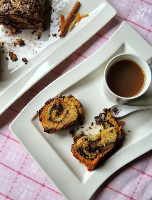Dizani kolač s čokoladom i arancinima