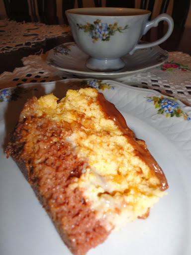 torta mousse de damasco