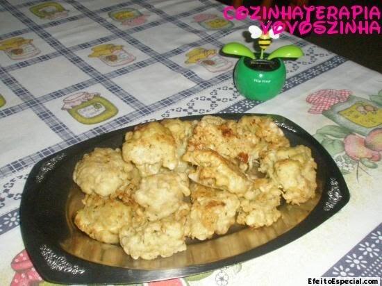 Couve-flor empanada
