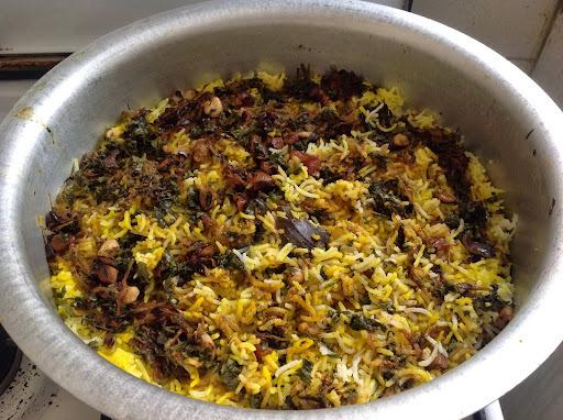 Andhra Egg Biryani