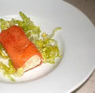 Rollito de salmón