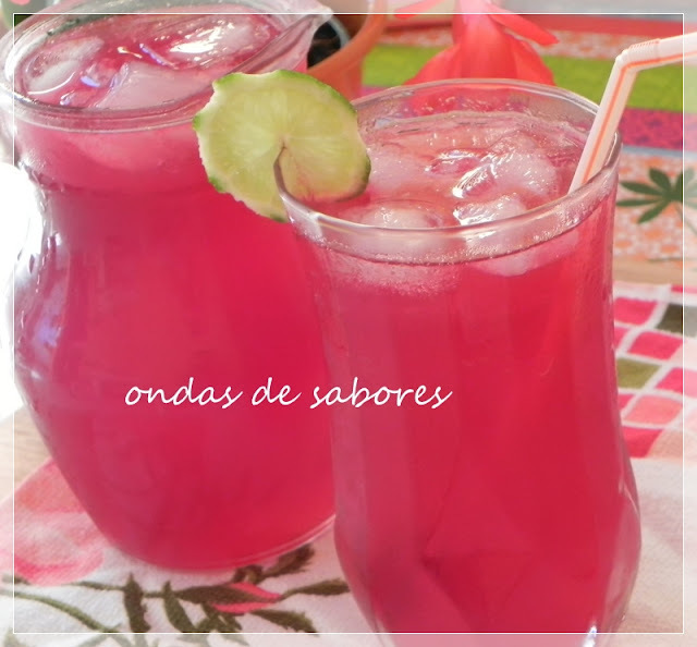 Pink Lemonade (limonada cor-de-rosa)