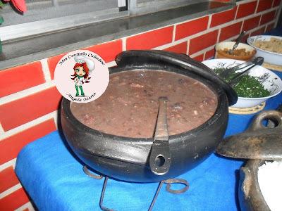 farofa fria para feijoada