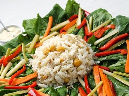 Salada de Bacalhau com Creme de Leite Light