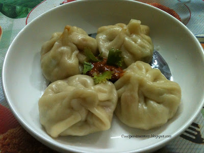 VEGETABLE MOMOS