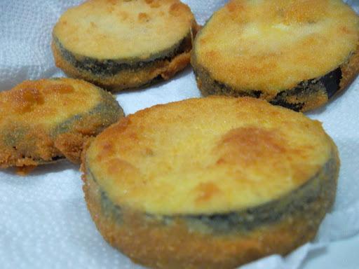 berinjela frita empanada