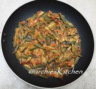 Achaari Bhindi