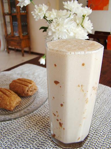 Batida de Banana com Café