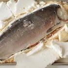 de salmão inteiro assado no forno