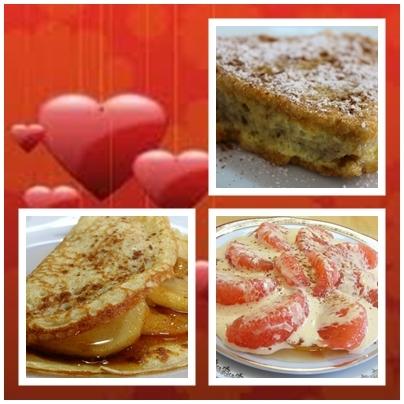 Sobremesas para o Dia de S. Valentim