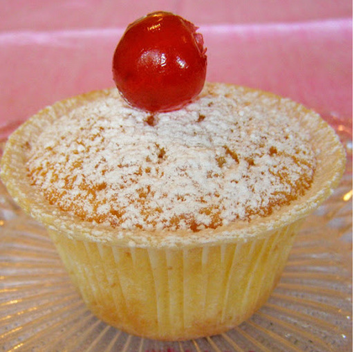 Muffins de Natal - receita fácil