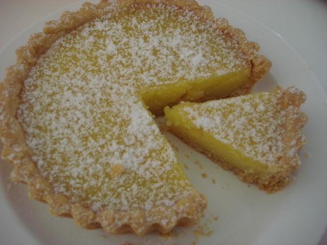 Torta de Laranja Lima
