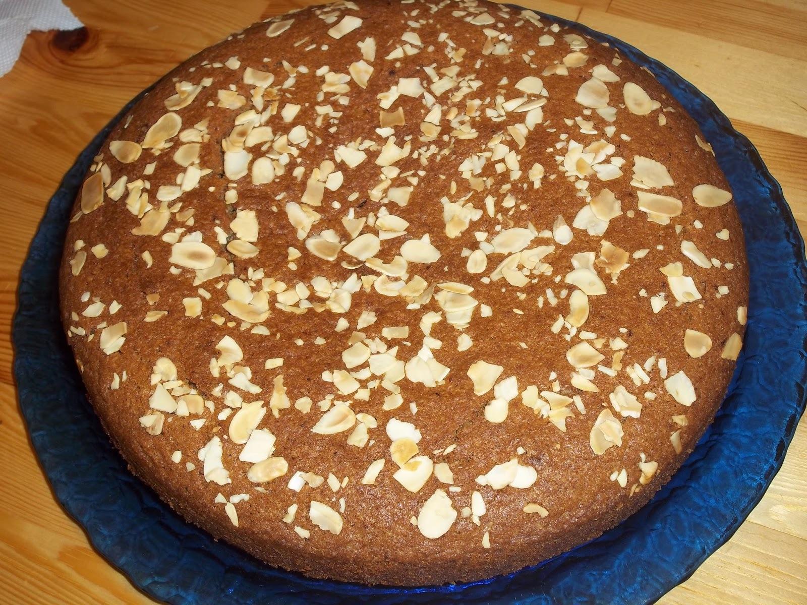 Κέικ αρωματικό με λάδι , χωρίς αυγά (νηστήσιμο, παραλλαγή στη συνταγή της Φανουρόπιτας)