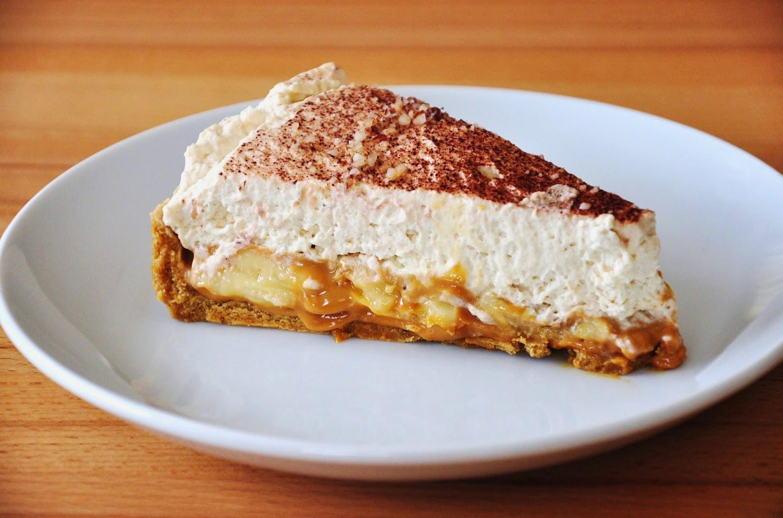 Torta Holandesa de Banana Caramelada