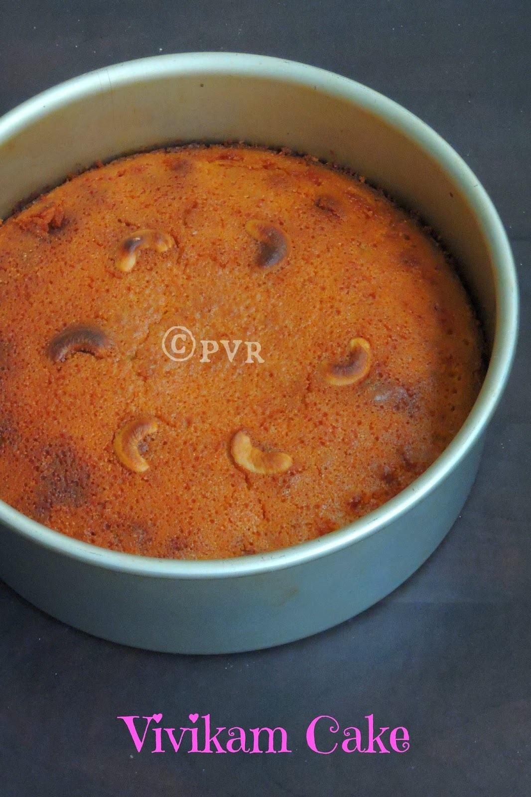 Vivikam Cake/Vivikum Cake -  Pondicherry Christmas Cake