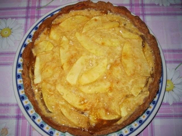 Torta de maçãs alsaciana