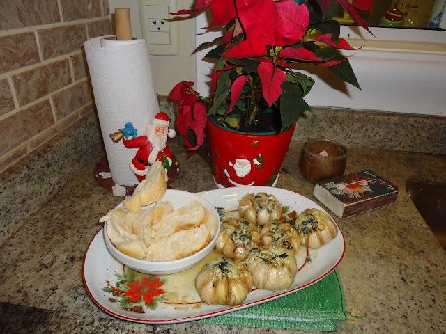 Especial de Natal - Alho Assado, Muffins salgados ....