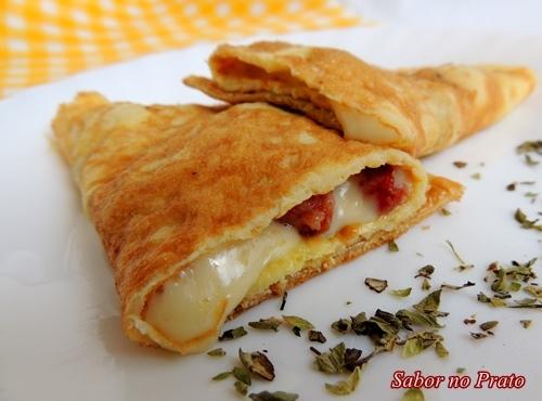 de omelete simples sem recheio