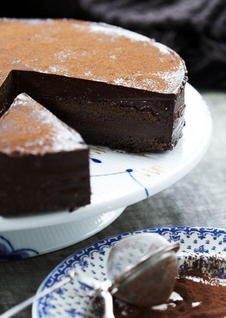 Chokolade chok kage