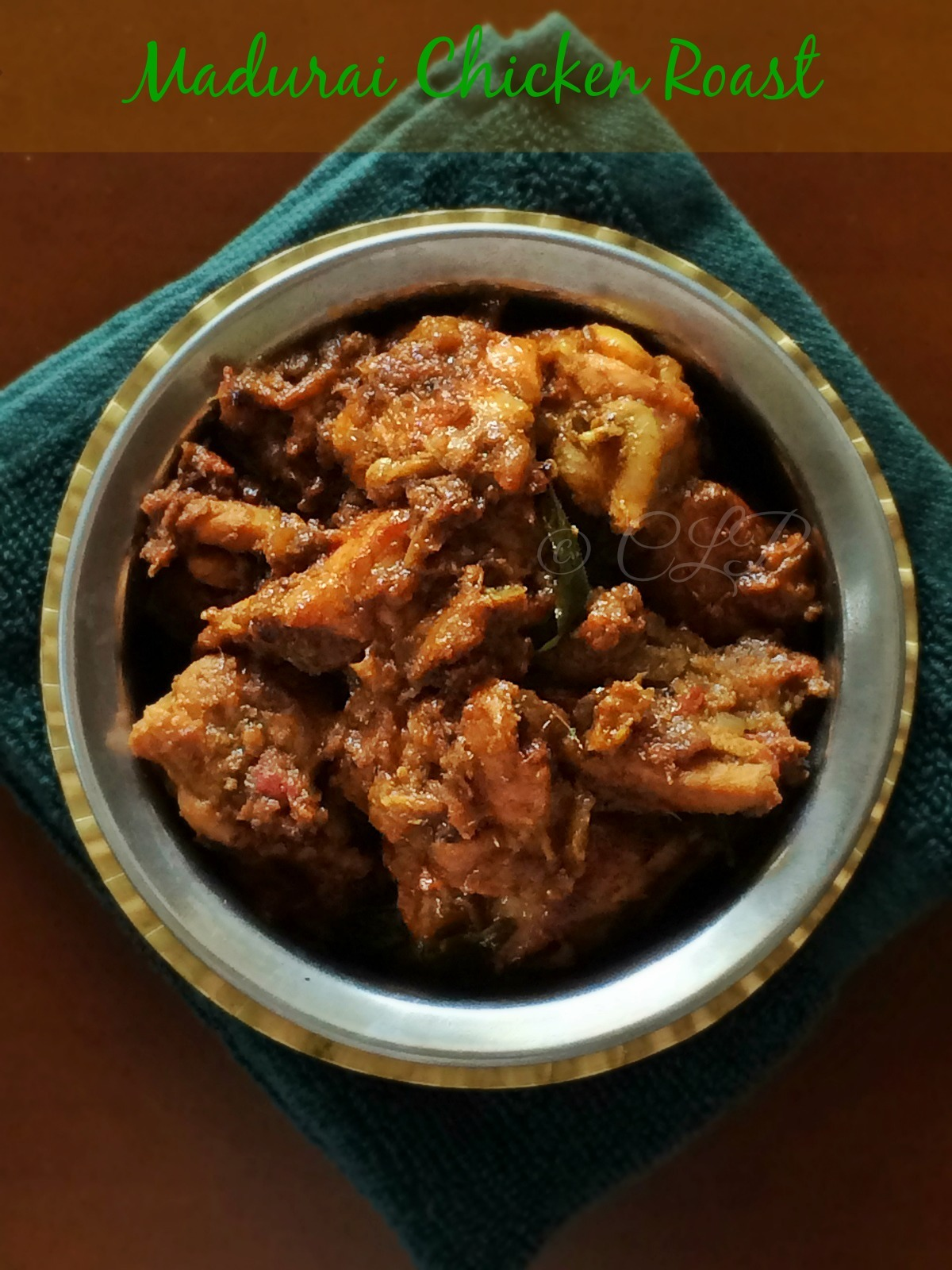Madurai Chicken Roast | Chicken Thokku Fry | Restaurant Style Chicken Masala