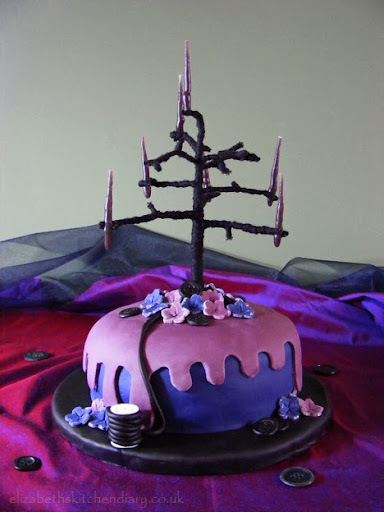 quirky birthday cake