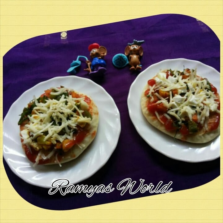 PIZZA         ( made in tawa)