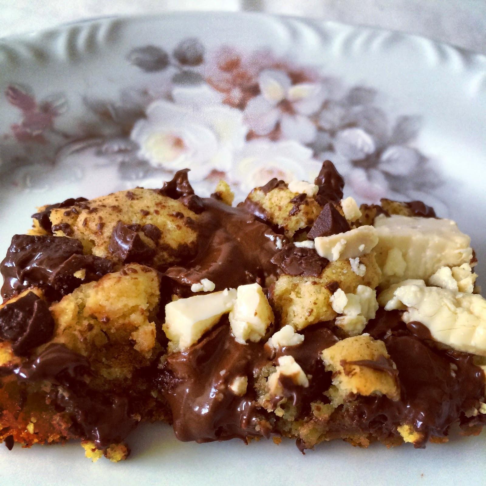 Cakie - Bolo de cookies de chocolate