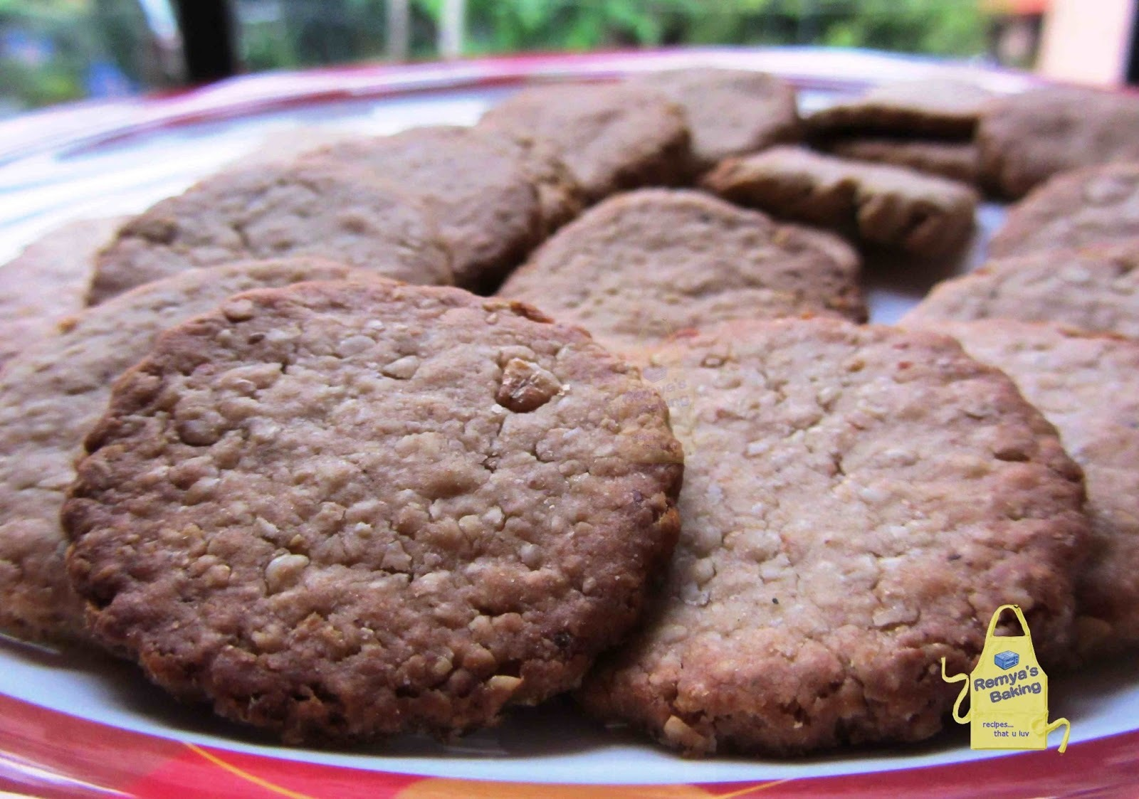 Oatmeal Crackers -Diabetic Friendly