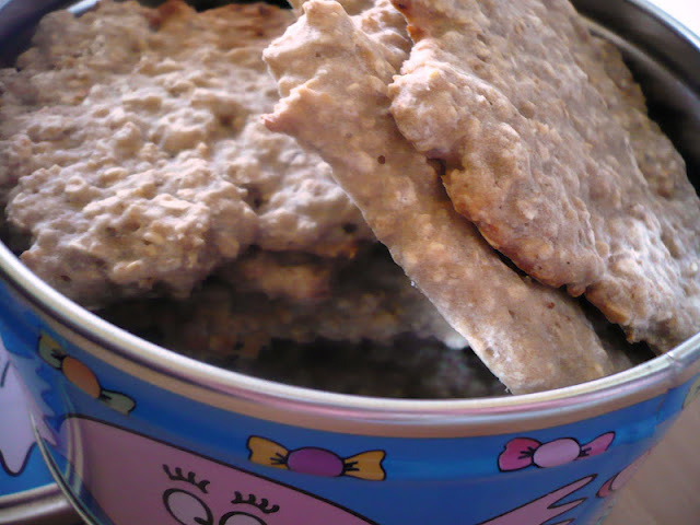Biscuits aux flocons d'avoine : sans graisse, sans lait, sans œufs