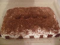 Bolo de Aniversário de brigadeiro e chocolate