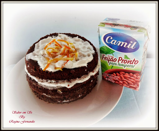bolo massa pronta de chocolate com recheio de beijinho como fazer