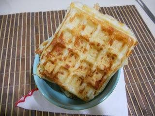 de waffle doce ana maria braga