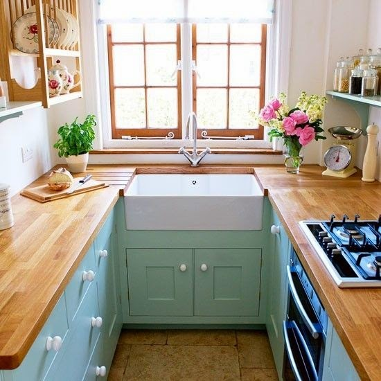 20 ideias para cozinhas pequenas