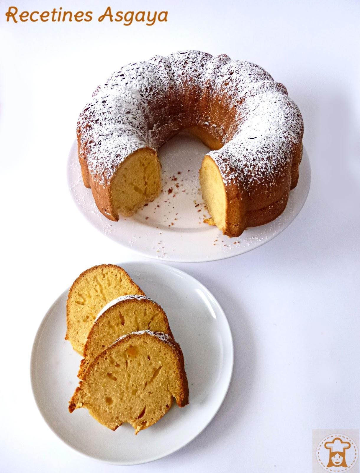 Bundt Cake de Boniato