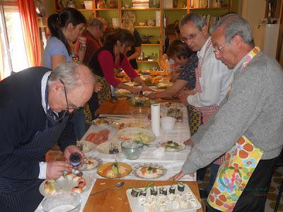 """Cocina japonesa en la Escuela de Cocina de """"Viena"""""""