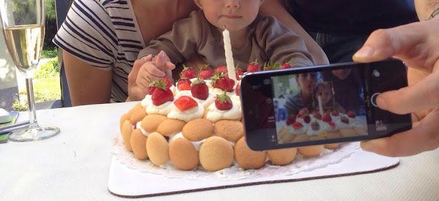 Torta na 1. narodeniny