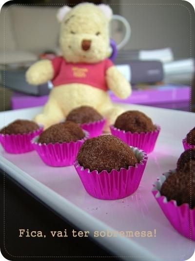 brigadeiro feito com barra de chocolate