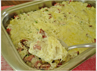 arroz com linguiça e alho poro