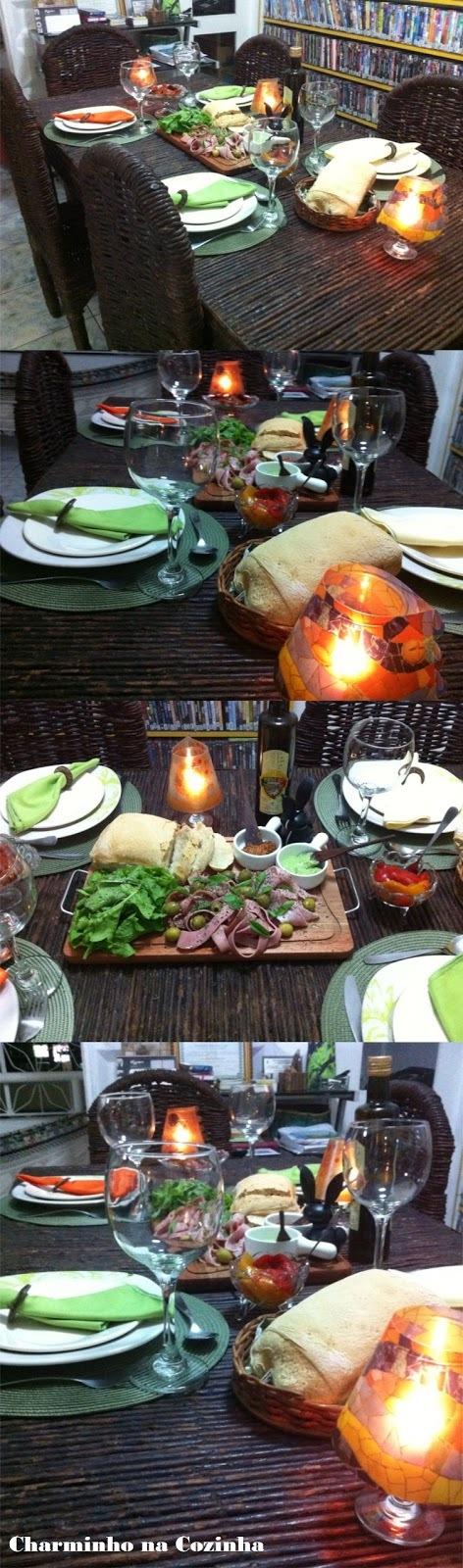cardapio simples para jantar com 60 pessoas