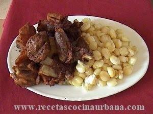 Como preparar chicharrón de cerdo boliviano