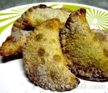 Pastel de Banana com Ricota