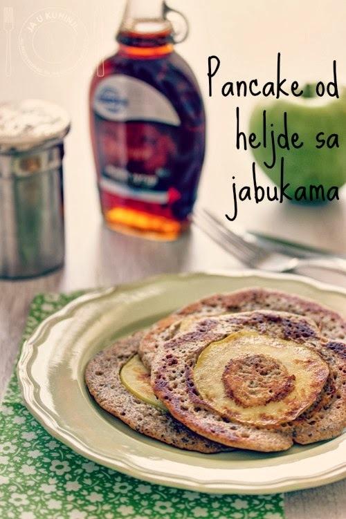 Pancakes od heljde sa jabukama