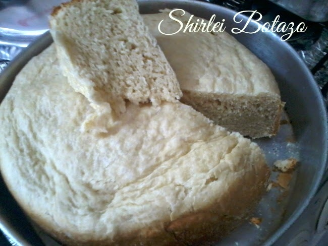 Pão na panela de pressão, de Shirlei Botazo