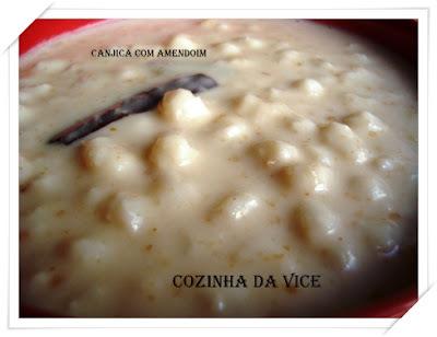 Canjica com Amendoim - Canjicada e Agradecimentos...