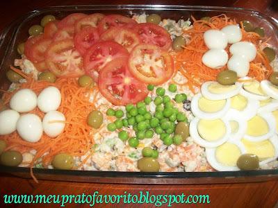 como decorar um prato de saladas para pascoa