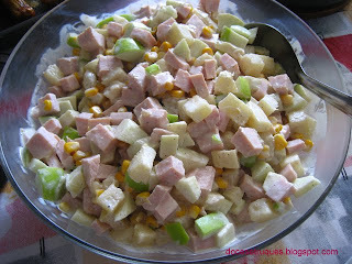 molho para salada tropical com creme de leite e maionese