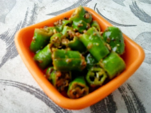 green chilli lemon pickle